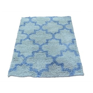 Thick and Plush Moroccan Berber Oriental Hand-knotted Rug (2'1 x 3')