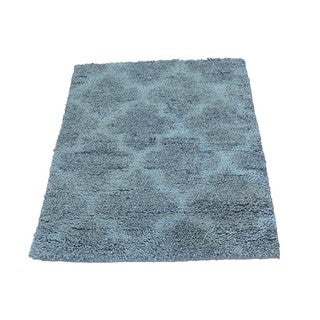 Thick and Plush Moroccan Berber Grey Hand-knotted Rug (2'1 x 2'10)