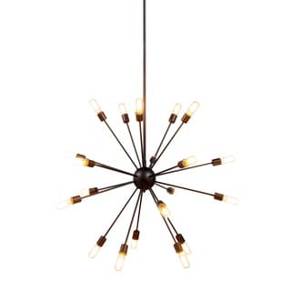 Somette Pelham Vintage Steel Multi-Bulb Pendant Light