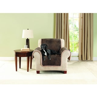 Superbe Sure Fit Vintage Leather Chair Furniture Protector