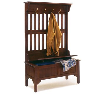 Home Styles' Hall Tree and Storage Bench by Home Styles