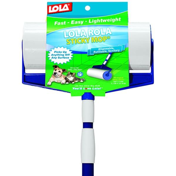 A.L. Ellis Lola Rola Sticky Mop (Sticky Mop), Silver steel