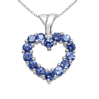 Sterling Silver 1 1/10ct TGW Tanzanite Pendant