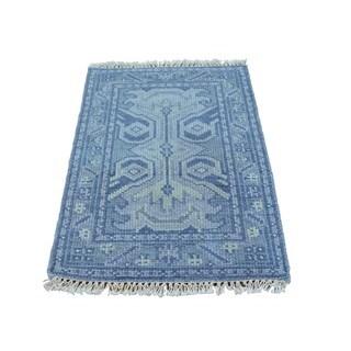 Oushak Wool Oriental Rug (2'1 x 3'1)