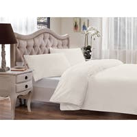 Brielle Modal from Beech Percale 3-piece Duvet Cover Set