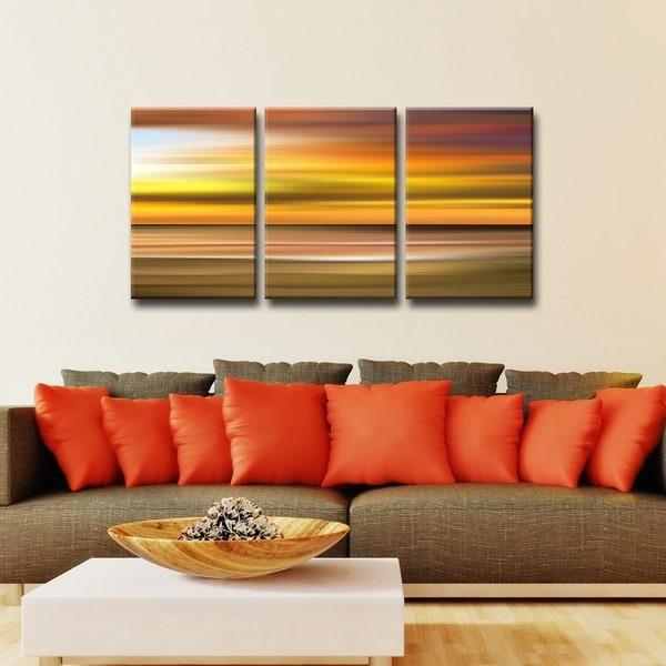 Ready2HangArt \'Blur Stripes X\' 3-PC Canvas Wall Art Set - Free ...