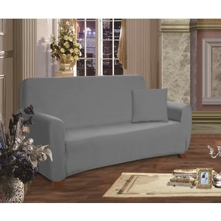 Elegant Comfort Jersey Stretch Furniture Slipcover Sofa