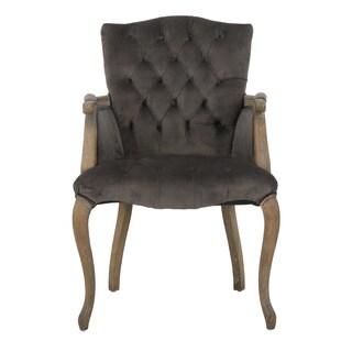 Christopher Knight Home Moira Velvet Arm Dining Chair