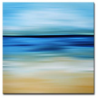 Ready2HangArt 'Blur Stripes IV' Canvas Wall Art