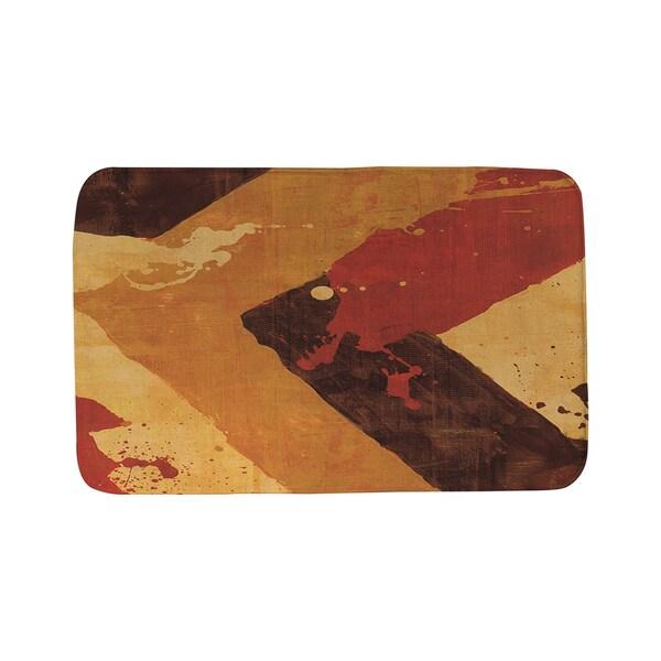 Splatter No 1 Red Bath Mat