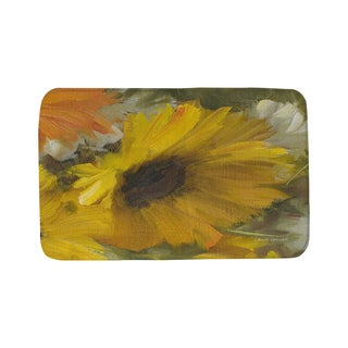 Thumbprintz Sunflowers Square II Bath Mat