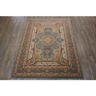 Blue Tabriz Persian Area Rug (5'3 x 7'5)