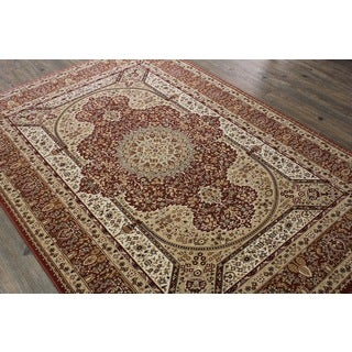 Rust Tabriz Persian Area Rug (5'3 x 7'5)