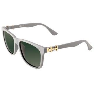 Zodaca Fashion Outdoor Grey Polarized Sunglasses 100-percent UV Protection UV400