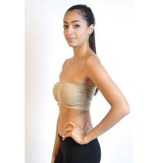 Soho Junior Bandeau Strapless Tube Top with Pad