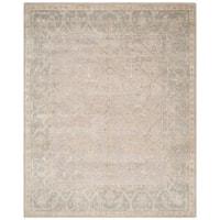 Safavieh Hand-knotted Maharaja Putty/ Grey Wool Rug - 8' X 10'