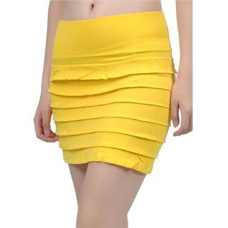 Soho Junior Layered Mini Skirt