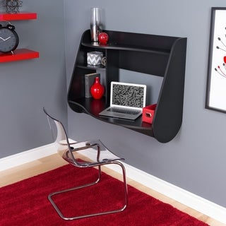 Broadway Black Wood Kurv Floating Desk