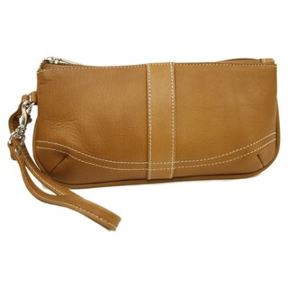 Piel Leather Large Wristlet