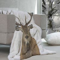Wildlife Collection Micromink Throw