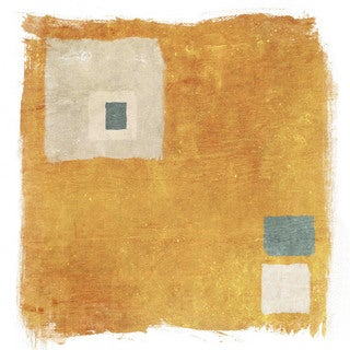 Marmont Hill - Orange Square by Irena Orlov Painting Print on Canvas