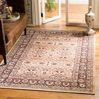 Safavieh Lavar Kerman Cream/ Navy Cotton Rug - 10' x 14'