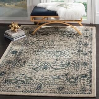 Shop safavieh evoke vintage oriental beige blue distressed rug 8 39 x 10 39 free shipping today - Decor discount montelimar ...