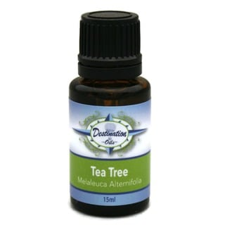 Destination Oils 15 ml Pure Tea Tree Essential Oil