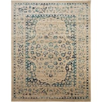 Safavieh Evoke Vintage Oriental Beige/ Turquoise Distressed Rug - 9' x 12'