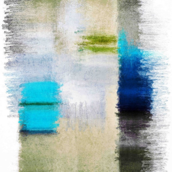 Marmont Hill - Abstract 4813-3 by Irena Orlov Painting Print on Canvas - Multi-color
