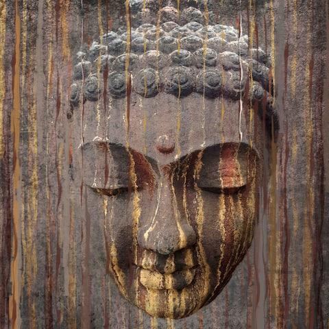 Marmont Hill - Handmade Buddha Painting Print on Canvas