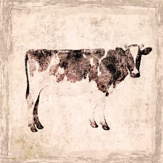 Marmont Hill - Cow by Irena Orlov Painting Print on Canvas