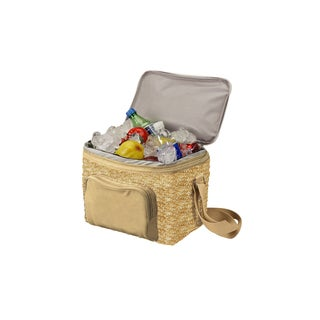 Goodhope Eco Cotton Canvas 18-Can Insulated Lunch Cooler Bag