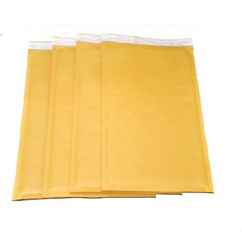 Kraft 7 x 12-inch #1 Padded Bubble Mailers (Case of 1000)