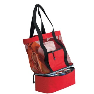 Goodhope Insulated Travel Cooler Tote Bag (Option: Red)