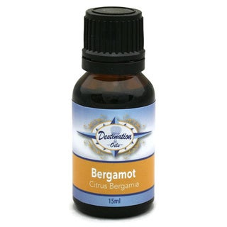 Destination Oils 15 ml Pure Bergamot Essential Oil