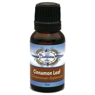 Destination Oils 15 ml Pure Cinnamon Leaf Essential Oil