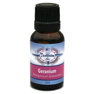 Destination Oils 15 ml Geranium Essential Oil