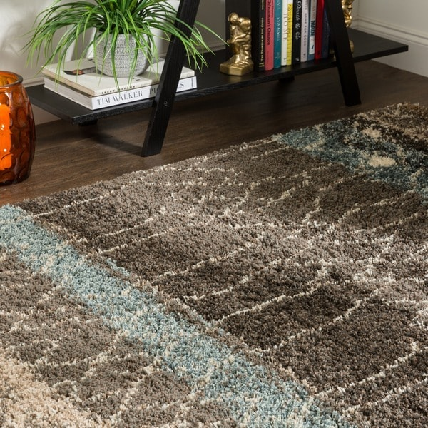Mohawk Home Huxley Adobe Brown Black Area Rug 8 X27 X 10