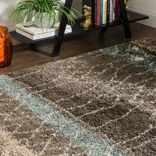 Mohawk Home Huxley Adobe Brown/ Black Area Rug - 8' x 10'