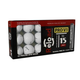 Titleist Prov1 Pack of 15 with 30 Hardwood Tees