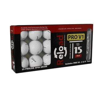Link to Titleist Prov1X Pack of 15 with 30 Hardwood Tees Similar Items in Golf Balls