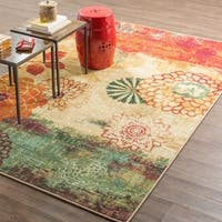 Mohawk Home Strata Pandora Multi-color Rug (5' x 8') - 5' x  8'