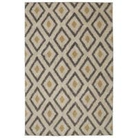 Mohawk Home Laguna Tribal Diamond Tan (5' x 8') - 5' x  8'