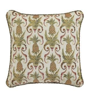 Croscill Pina Colada Square Throw Pillow