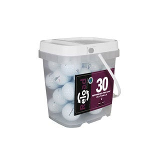 Titleist Prov1X Pack of 30 with Reusable Bucket