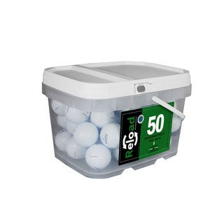 Titleist Prov1 Pack of 50 in Reusable Bucket