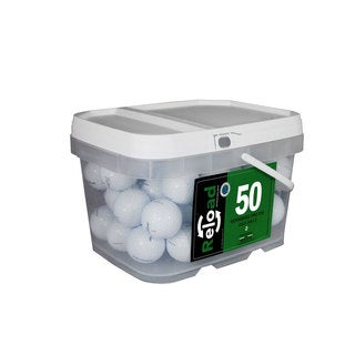Titleist Prov1X Pack of 50 in Reusable Bucket