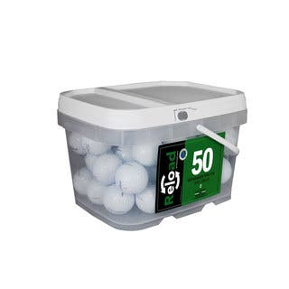 Titleist Prov1X Pack of 50 in Reusable Bucket|https://ak1.ostkcdn.com/images/products/10979592/P18002126.jpg?impolicy=medium