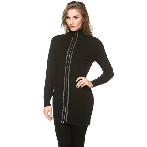 High Secret Women's Zip-Up Long Sleeve Cardigan